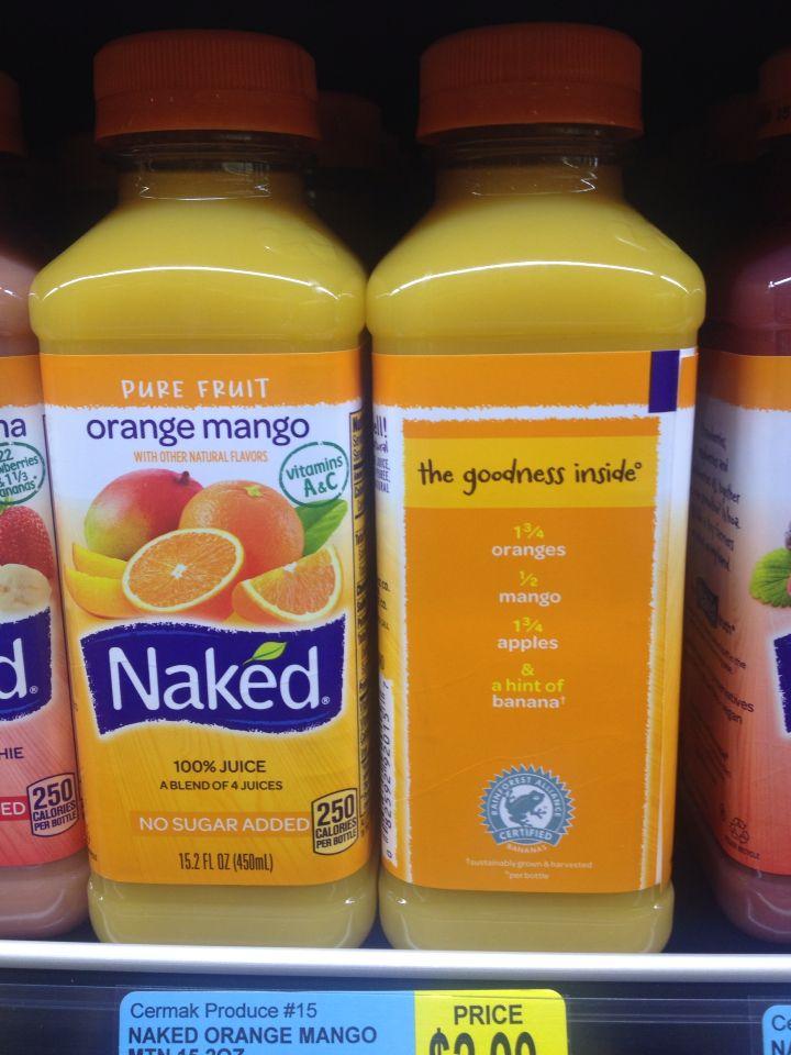 Naked Mango Juice 53