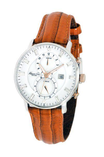 Kenneth Cole Damen-Armbanduhr Dress Sport Chronograph Leder KC2710: Kenneth Cole: Amazon.de: Uhren