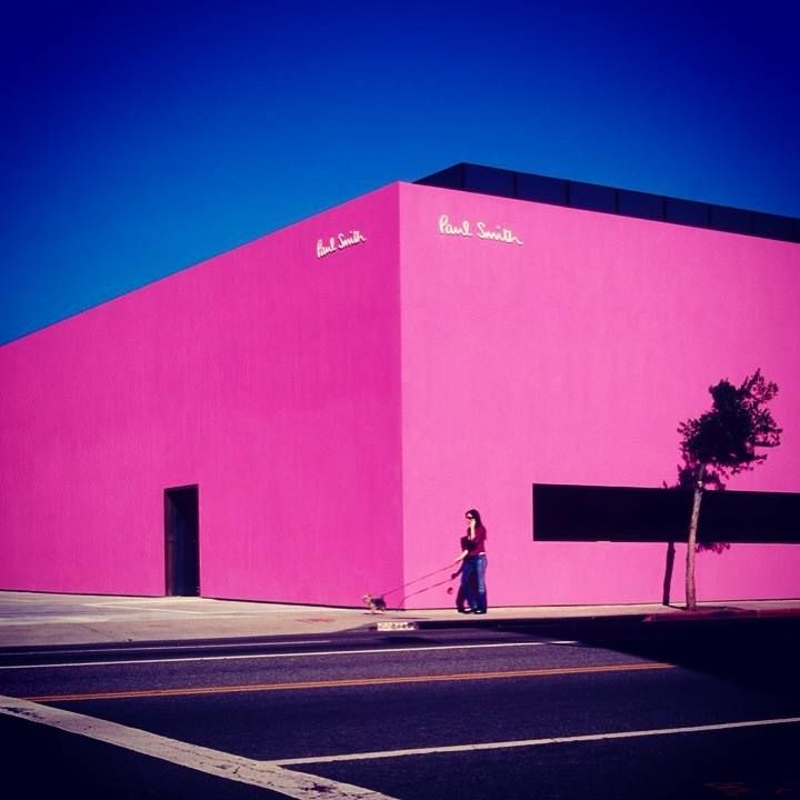 Store Exteriors | Shop Fronts | Retail Design | paul smith west Hollywood