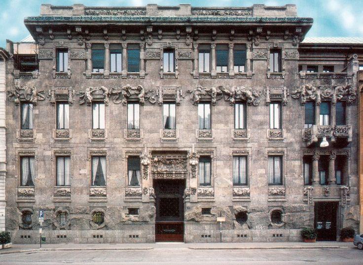 Giuseppe Sommaruga, Palazzo Castiglioni in Milán