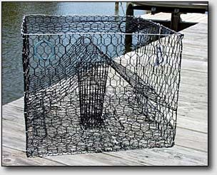 how to build a crab trap step by step