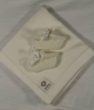 Swadding Wrap & Wool Booties Wrap - 100% premium New Zealand merino wool