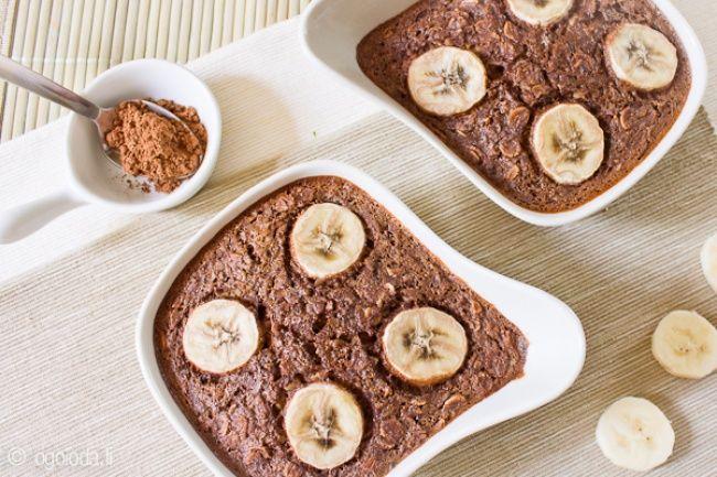 10рецептов вкуснейших завтраков изовсянки Шоколадно-банановая…