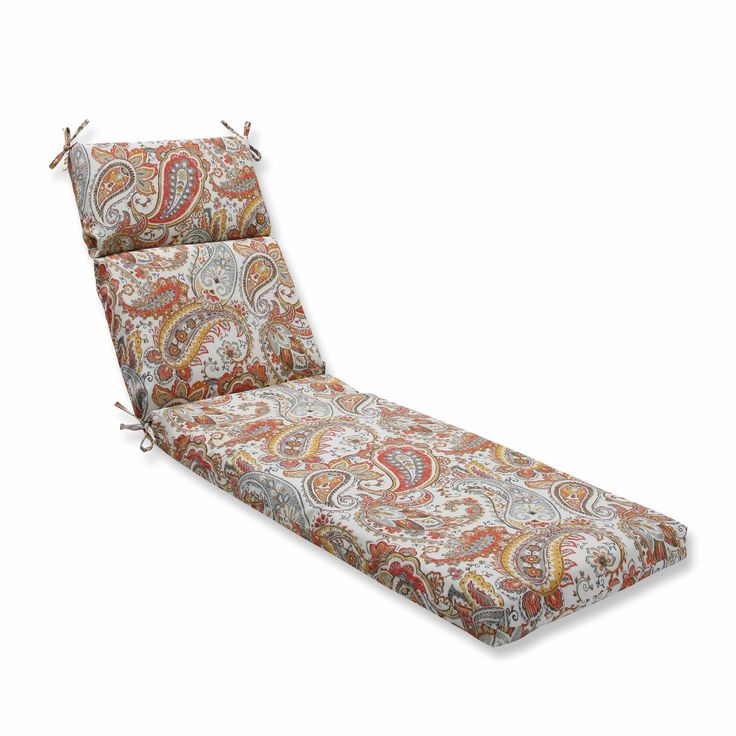 Hadia Sunset Chaise Lounge Cushion