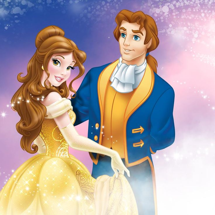 Princess Belle And Prince Adam Beauty And The Beast Gohana: Belle And Prince Adam