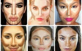Znalezione obrazy dla zapytania konturowanie twarzy