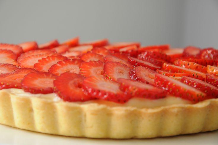 torta pâtisserie de morango