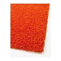IKEA - HAMPEN, Teppich Langflor, 133x195 cm, , Aus Synthetikfasern und daher robust, fleckabweisend und leicht zu reinigen.Durch den langen Flor lassen sich mehrere Teppiche zusammensetzen, ohne dass Übergänge sichtbar sind.