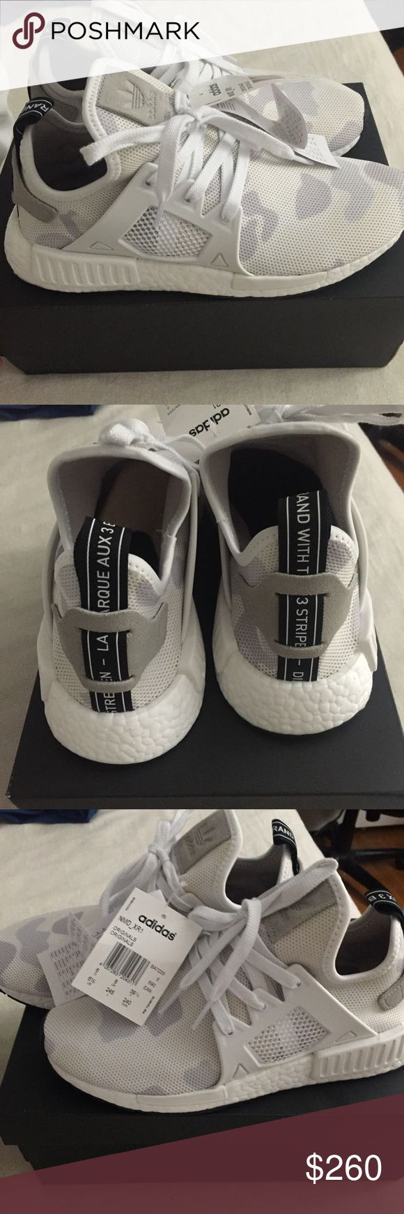 Adidas NMD XR1 Rare color Adidas Nmd pastel camo R1. Brand new never been worn! Size Women6.5/men5.5 . This runs half size large , if you usually wear sneakers size 7. This is the right size for you . Adidas Shoes Sneakers