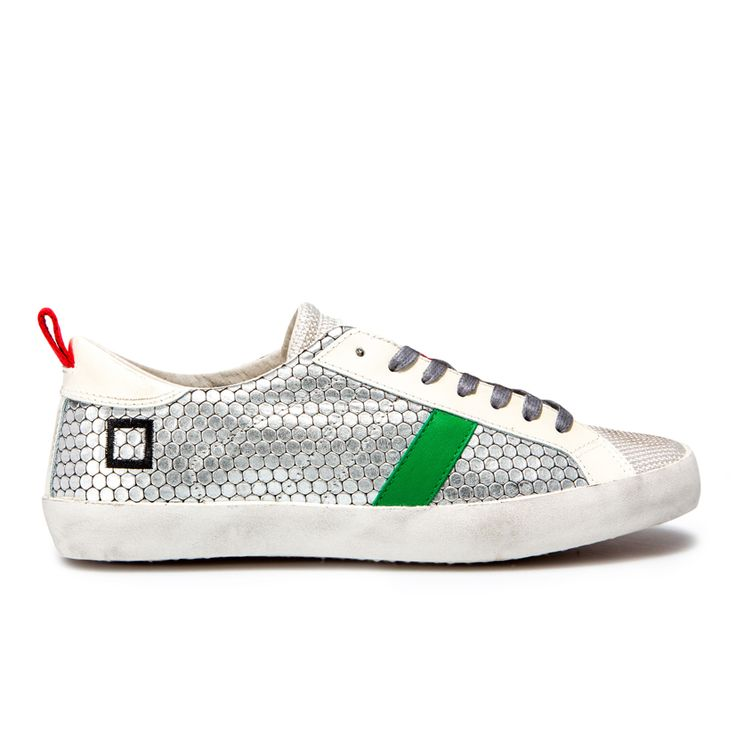 Spring Summer 2015 D.A.T.E. Sneakers Collection / Italian design/ Hill Low Pong Silver:http://bit.ly/1G7uc1A