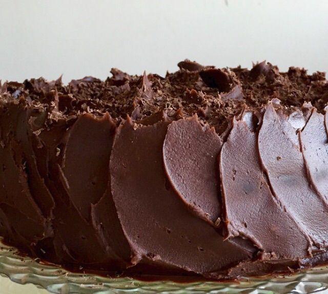 Snilleskök - Devil's chocolate cake