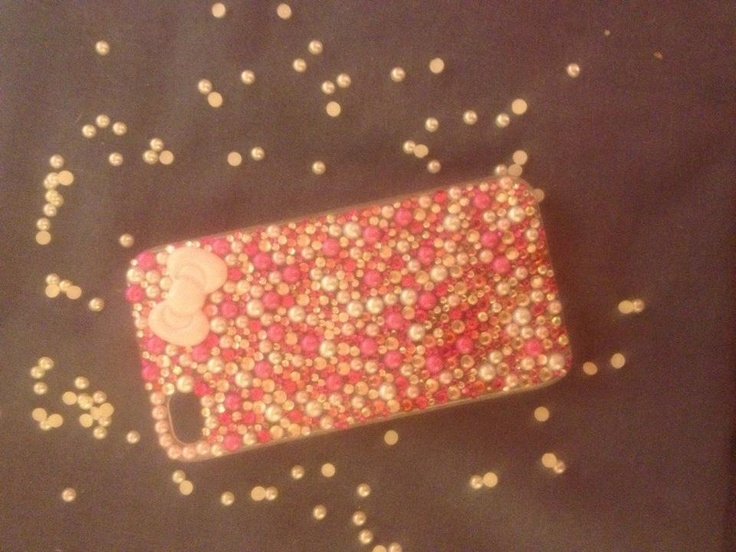 Swarovski & pearl phone cases