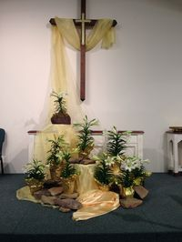 Easter Decorating Ideas For Church 29 best fall church decor images on pinterest | church ideas