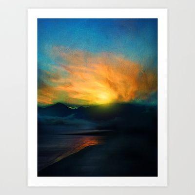 In the sunrise by Viviana Gonzalez