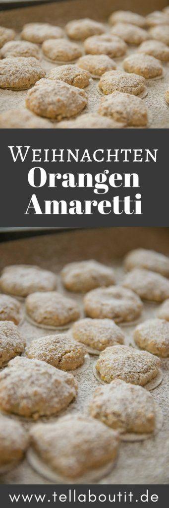 Super lecker und der Geschmack nach Marzipan und Orangen bereitet auf Weihnachten vor. Diese leckeren Orangen Amaretti schmecken nach Marzipan und Orange und sind kinderleicht zu backen