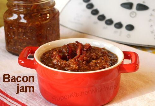 Can't help it, I love bacon jam. The one with the cocoa in it of course! ;)