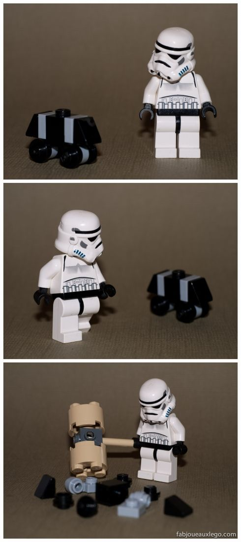 So true! If I were on the Death Star and had to listen to those stupid things I'd do the same thing.