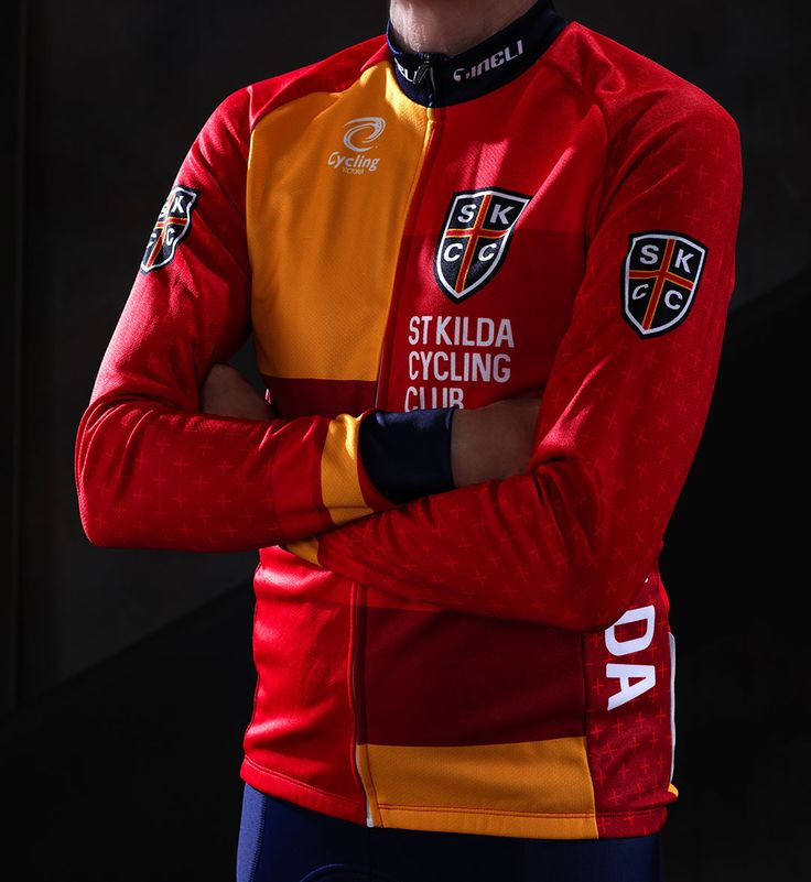 Long sleeve jersey designed for SKCC's new club kit