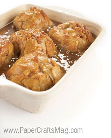 Old Fashioned Apple Dumplings:INGREDIENTS 1 recipe pastry for double-crust pie/  6 large Granny Smith apples, peeled and cored / 1/2 c. butter / 3/4 c. brown sugar/   1 tsp. ground cinnamon / 1/2 tsp. ground nutmeg / 3 c. water / 2 c. white sugar / 1 tsp. vanilla extract