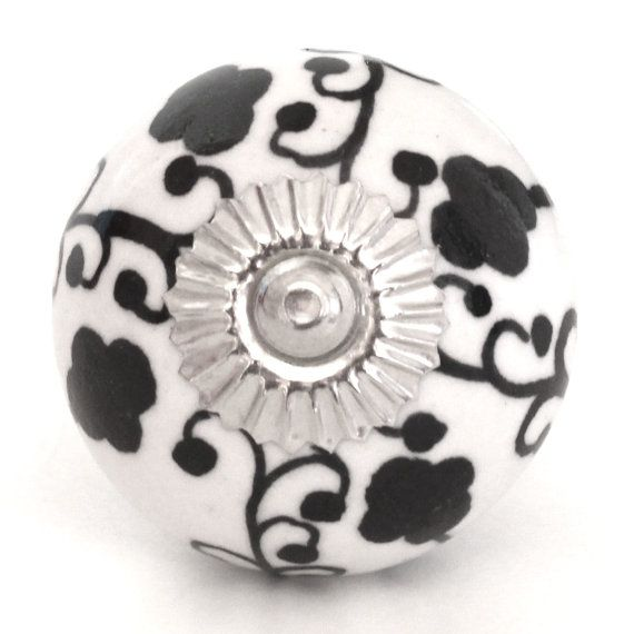 Ceramic Porcelain Door Knobs Various Multi by DesignInFocus
