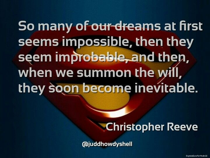 Superman Quote Of The Day For Motivation