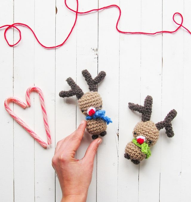 Little Things Blogged: Amigurumi Rudolph Christmas  ༺✿ƬⱤღ  http://www.pinterest.com/teretegui/✿༻