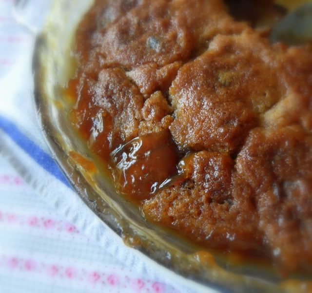 Old Fashioned Date and Walnut Pudding
