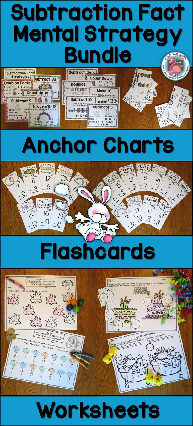 280 best Addition and Subtraction Facts images on Pinterest | First ...