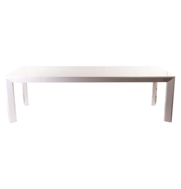 Shezelle Extendable Dining Table - Matt Blatt