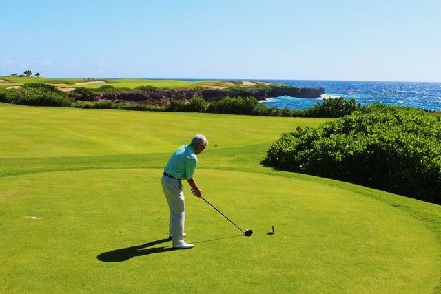 Corales golf course at Puntacan Resort - hole 9