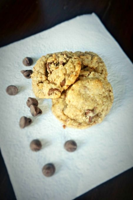 Triple Chocolate Oatmeal Cookies: A little bit of this and a whole lot of chocolate that creates the best cookie you have ever eaten.