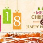 Merry Christmas & Happy New Year 2018 Facebook HD Wallpapers, Images, Wishes, Quotes, Status