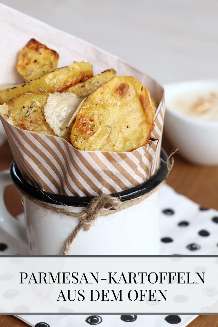 Rezept: Ofen-Kartoffeln mit Parmesan