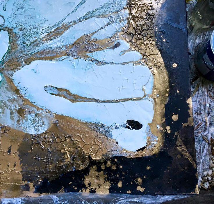 #artist #studio wollahra Imre Badonski @bad_on_ski