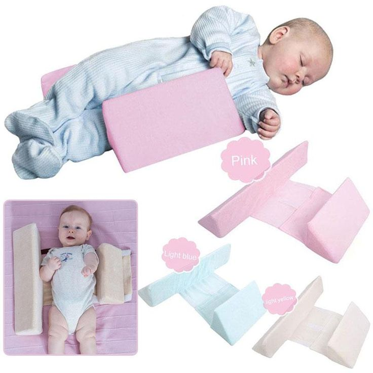 AntiRoll Infant Baby Shaping Pillow Sleep Support Safe