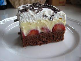 Sladký Sen: Jahodový koláč