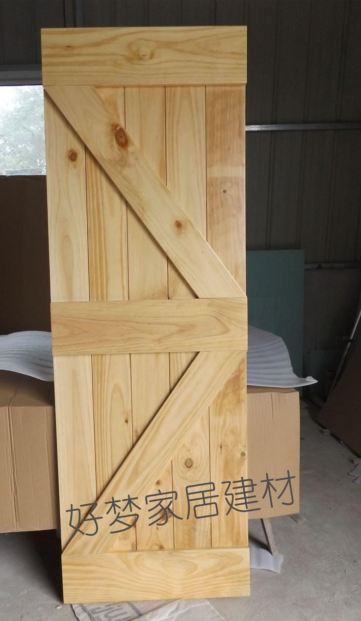 Η πόρτα του αχυρώνα GC009 αμερικάνικο συρόμενη πόρτα πεύκο ξύλινη πόρτα ανοίγει πόρτες απευθείας στους κατασκευαστές φάρμα