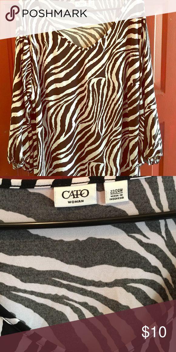 Cato women blouse 22/24 Euc like new Cato Tops Blouses