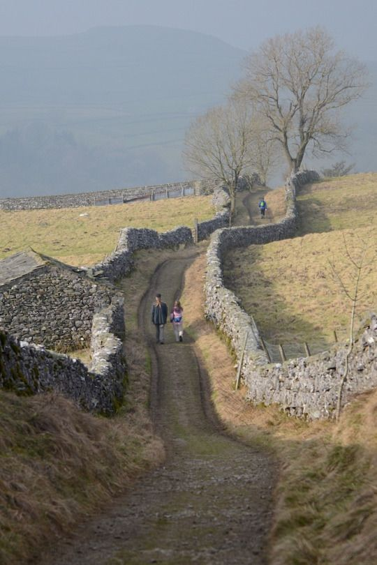 Goat Lane to Catrigg Foss - Yorkshire Dales, England by gibbo07