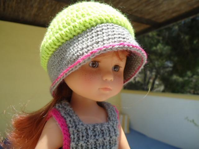 tuto chapeau aux trois couleurs pour poupée chéries de corolle. - Le blog de iaia tri-cro-coud