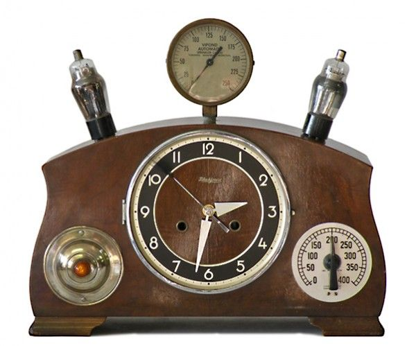 17 best images about steampunk for the home on pinterest copper steam punk and steampunk design - Steampunk mantle clock ...