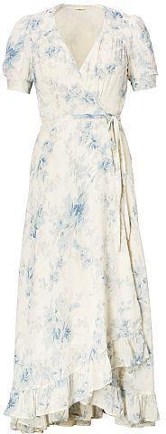 Ralph Lauren Denim & Supply Floral-Print Gauze Wrap Dress