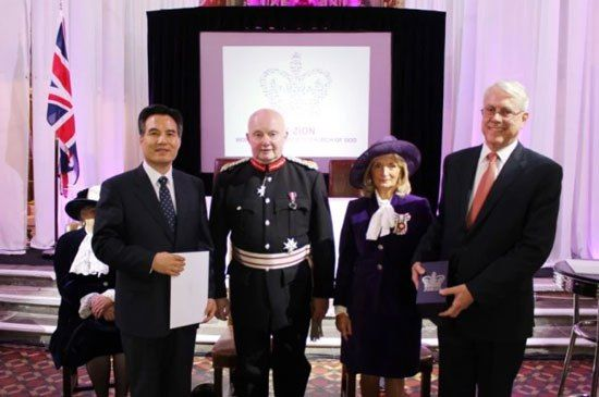The World Mission Society Church of God (WMSCOG) has been honored with the Queen's Award, the highest award a voluntary group can receive in the UK. May 24, 2016. Congratulations!