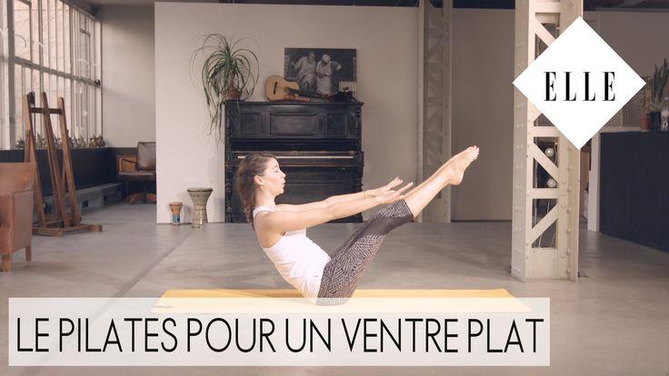 Le pilates pour un ventre plat┃ELLE Pilates