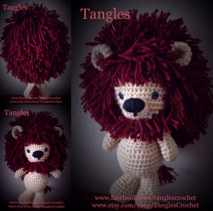 Little Amigurumi Lion : 59 best images about Amigurumi * Dolls * Stuffies on Pinterest