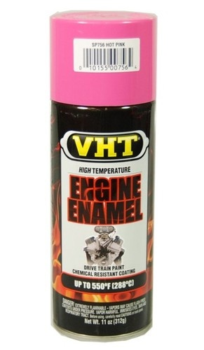 Vht Sp756 Hot Pink High Temp Engine Enamel Spray Paint Engine Hot Pink And Enamels