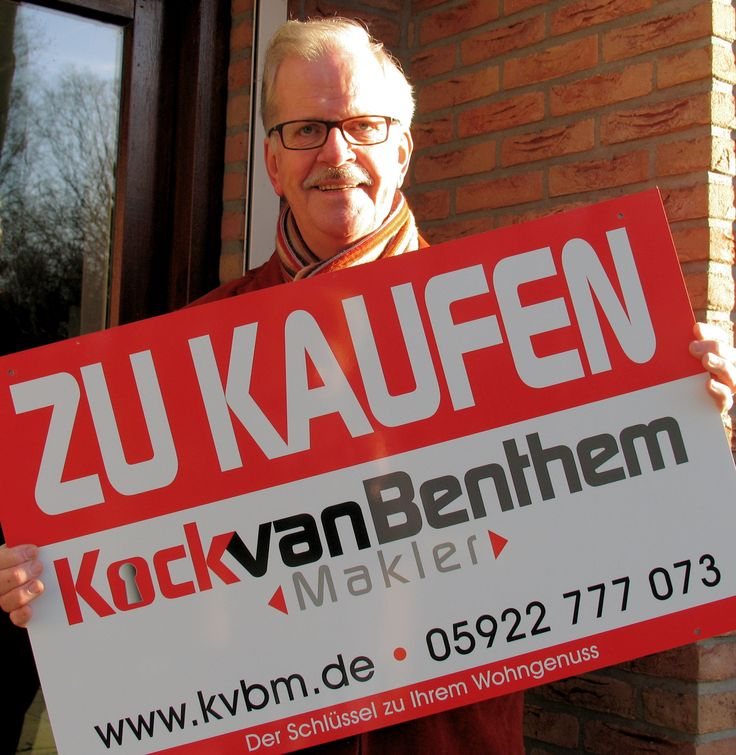 Neue ZU KAUFEN Schilder Nieuwe TE KOOP borden