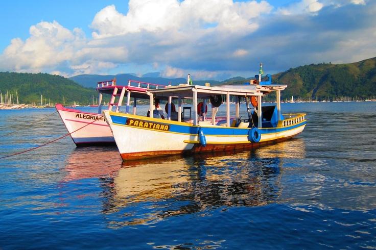 Brazilian Boats in Paraty. Photo by Henrik Kraft.