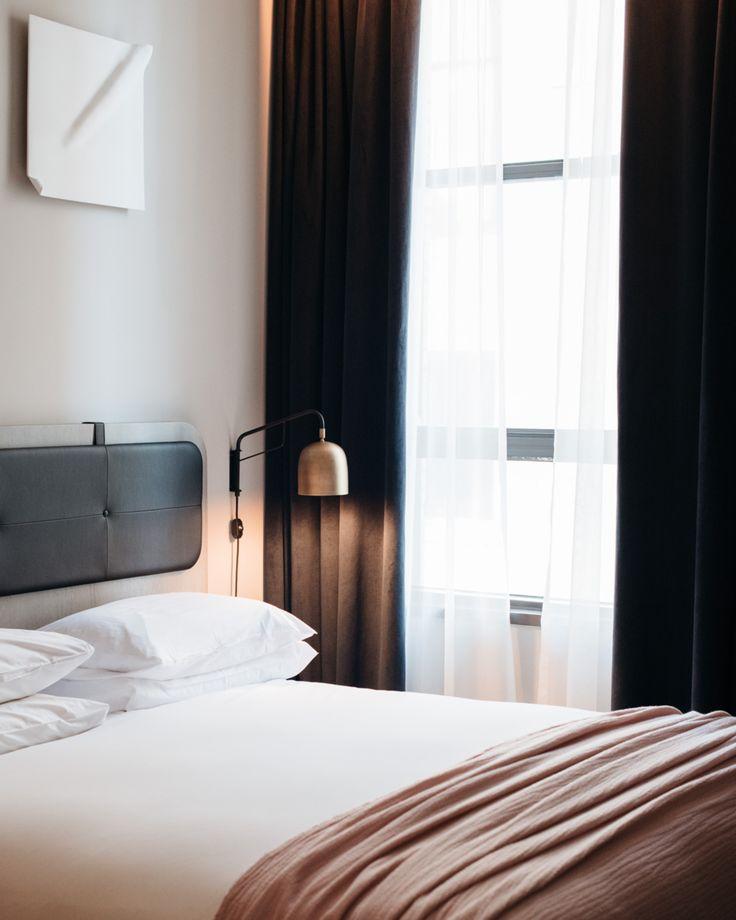 Modern Master Bedroom, Hotel Bedroom Design And