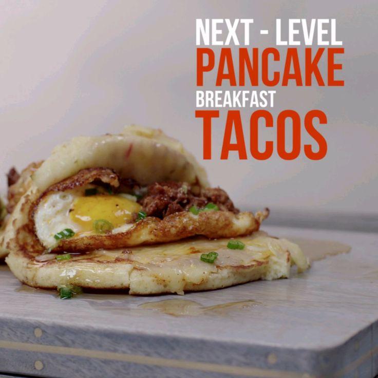 Next-Level: Pancake Breakfast Tacos